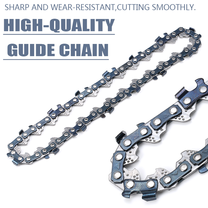 1pc 4Inch Chainsaw Chain Bar Pitch Blade Wood Cutting Mini Electric Chain Saw Wood Cutter Chainsaw Spares