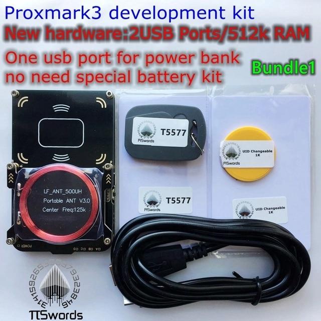 New proxmark3 develop suit Kits 3.0 proxmark  NFC PM3 RFID reader writer for rfid nfc card copier clone crack 2 USB port 512K