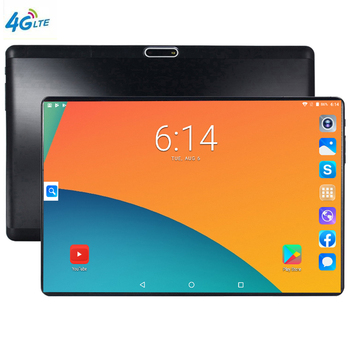 S119 IPS Tablettle Pocket PC Vidros Temperados 2.5D 64 Tablets telefone 10.1 polegada Android 9.0 1280 800 GB ROM Tablet PC 6GB Ram 5MP