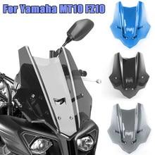 FZ MT 10 мотоциклетное ветровое стекло козырек Viser ветровой щиток для Yamaha MT10 FZ10 MT-10 FZ-10 2016-2021 2019 2020
