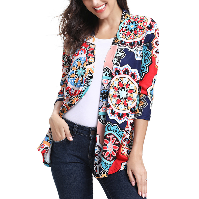 Floral Print Open Pregnancy Shirt Maternity Clothes Lace On The Back Long Sleeve Maternity Blouse Tops Womens Clothing
