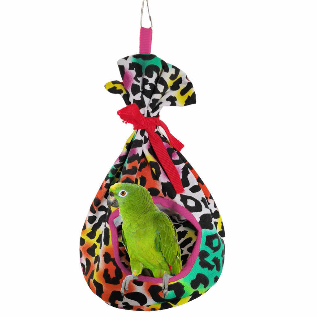 BIRD Kite Perched เต็นท์ WARM ฤดูหนาว Nest แขวนรอบเตียง Windproof เปลญวนผ้าใบสัตว์เลี้ยง Swing House 3 สี 19Dec30