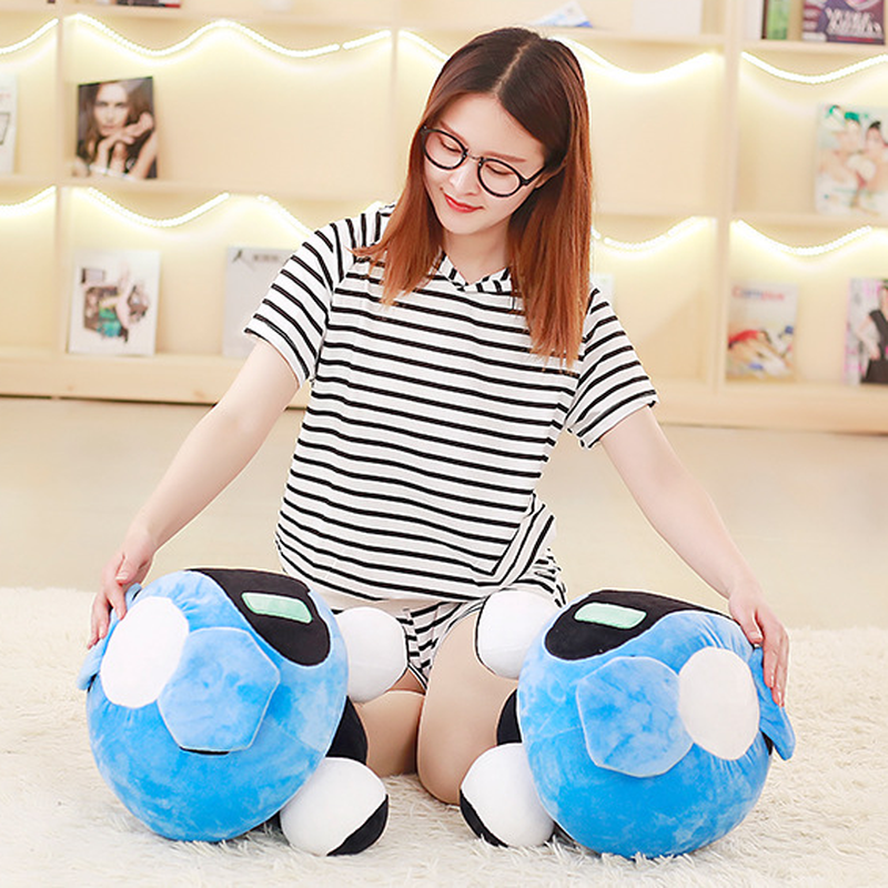 40cm Overwatches Plush Cushions Toys Overwatching Blizzcon Mei Stuffed Pillow Dolls Cartoon OW Cosplay Plush Toy Girls Boys Gift 4