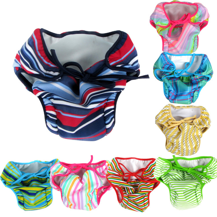Baby Waterproof Anti-Then Swimming Trunks Infant Prevention Of Urinary Swimming Trunks Baby Diapers Infant Swimming Pool