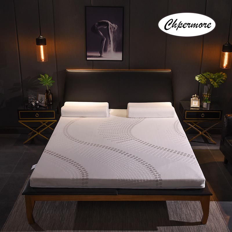 Chpermore 100% Natural Latex Mattress  Slow Rebound Mattresses Foldable Single Double Tatami With A Inner Cover King Queen Size
