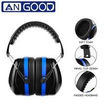 Персональные защитные наушники angwood для ушей, громкие, 130 дБ, анти-шум, снижение шума, наушники для заводской съемки, забота о здоровье