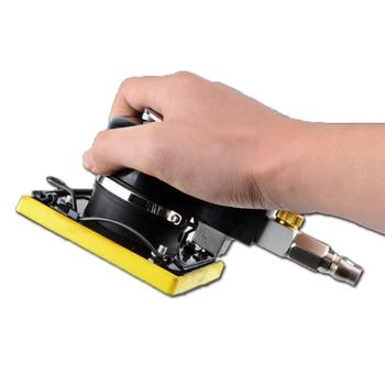цена на Pneumatic Tools Triangle Grinder Pneumatic Polishing Machine Square Pad Pneumatic Grinding Machine Pneumatic Sandpaper Machine