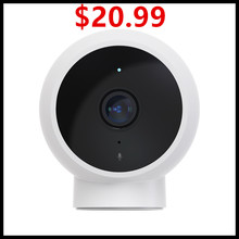 Xiaomi cámara IP inteligente mijia AI 1080P IP65, impermeable, alta definición, visión nocturna infrarroja, super gran angular de 170 grados