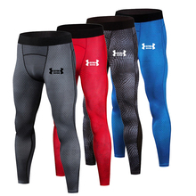 Men's Compression Pants Running Tights Men Training Fitness Sports pants Leggings Gym Jogging Trousers Yoga Workout Sportswear