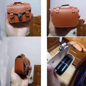 DIY кожаная ручная мини-сумка для наушников, косметичка, высечка, нож, формы, металлический Дырокол, набор инструментов