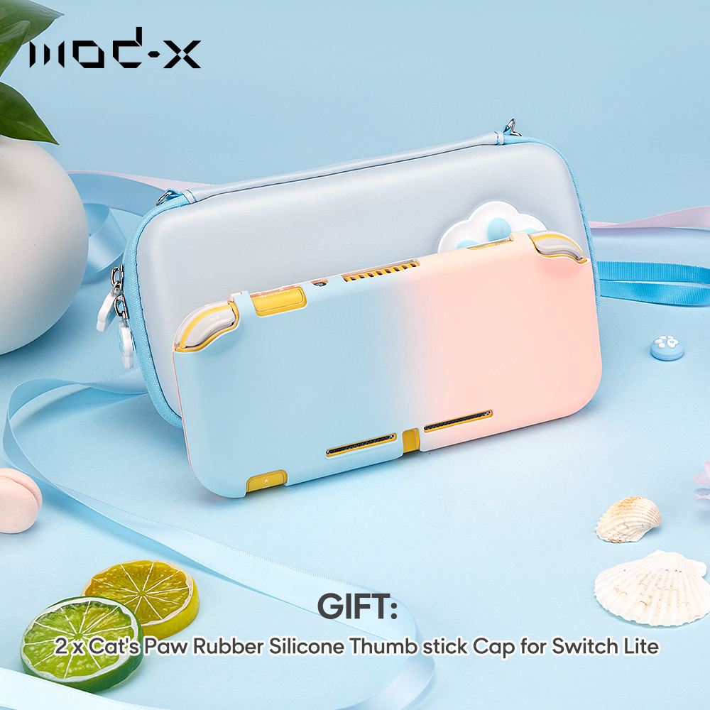 Mod-X Mix Color Protective Cover For Nintendo Switch Lite Case NX NS Lite Back Cover Nintend Switch Lite JoyCon Controller Case