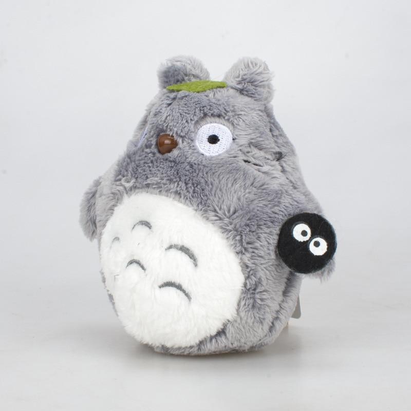 10cm Totoro Plush Toys Anime Totoro Keychain Toy Stuffed Plush Pendant Totoro Dolls Package Accessories Child Birthday Gifts