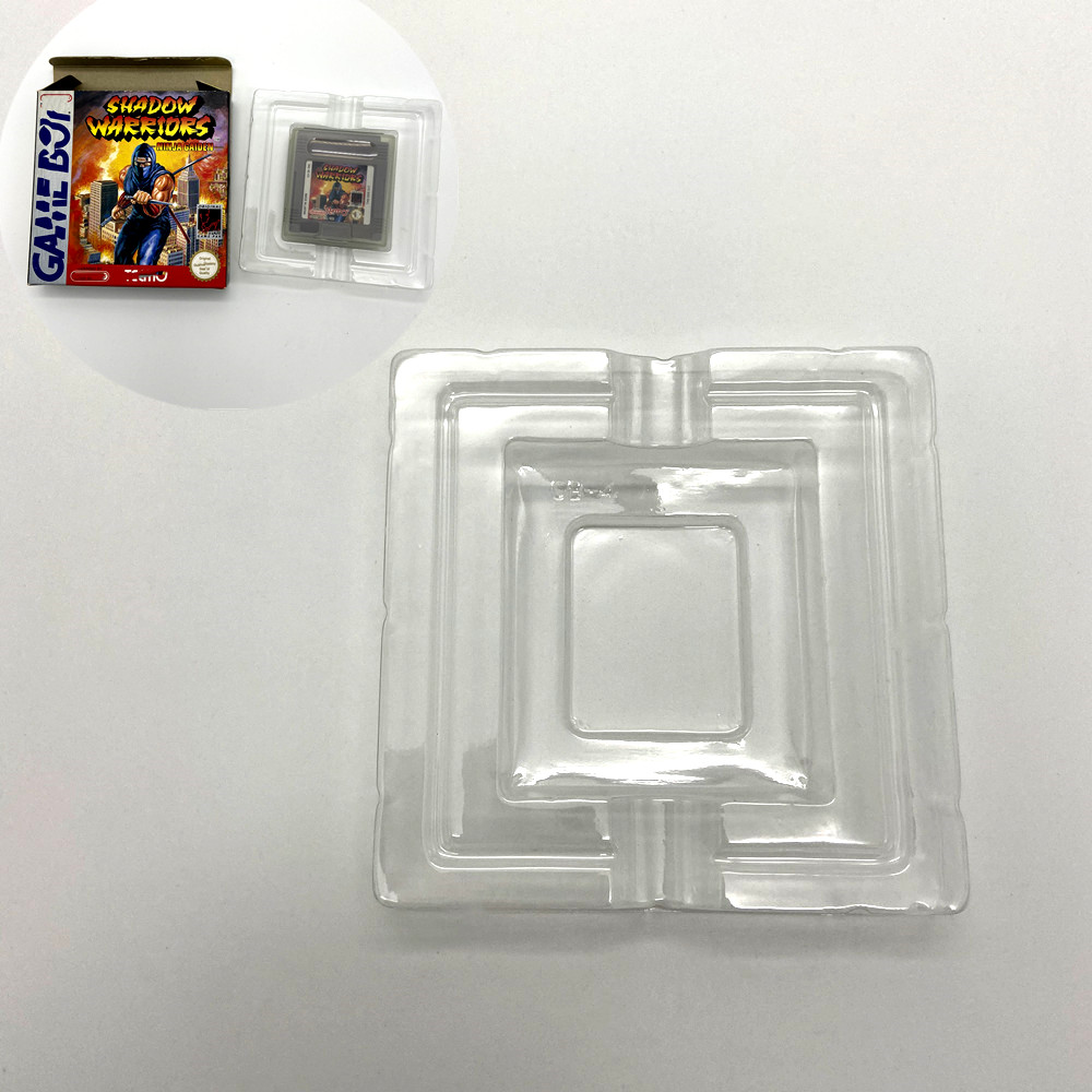 Lining for Gameboy GB DMD game box in Europe and America