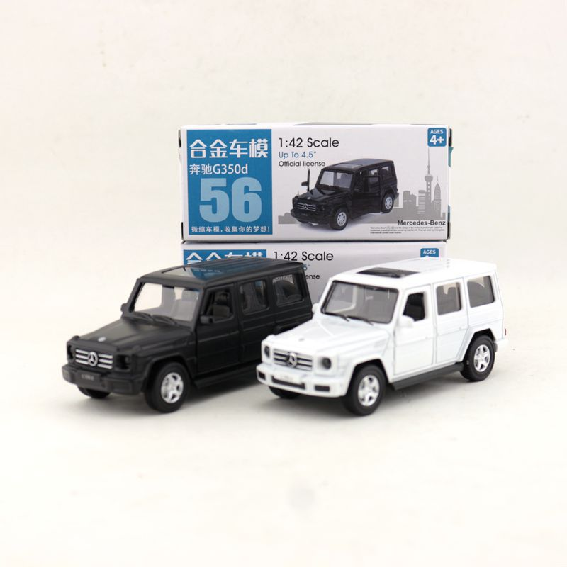 CAIPO 1:42 Scale Benz-G350D SUV Alloy Pull-back Car Diecast Metal Model Car For Collection Friend Children Gift