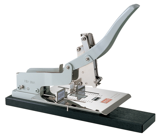 Japan MAX HD-1NA Large Stapler Heavy Duty Stapler Thick Layer Thickening Type Applicable Bill Leather Cloth Labor-saving Binding