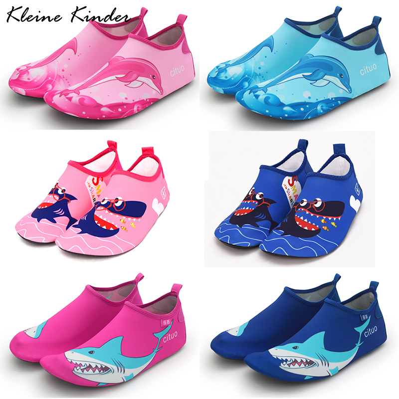 Baby Water Shoes Barefoot Aqua Shoes For Children Rubber Slippers For Swimming In The Sea Kids Beach Shoes Sneakers For Boy Girl