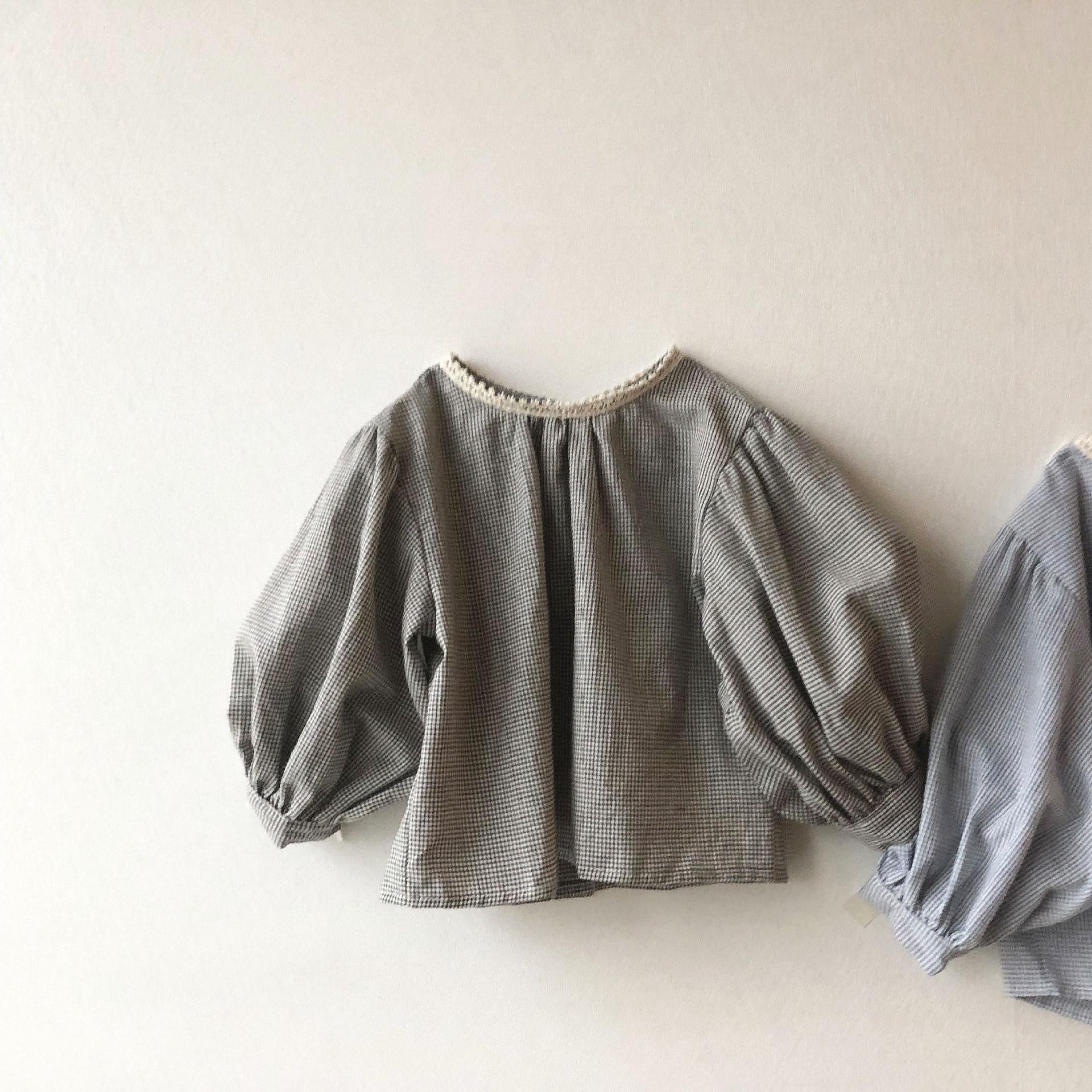 primavera novas crianças roupas de algodão base tops para meninas blusa