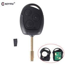 Keyyou chip id46 para carros com controle remoto, chave automotiva 433mhz para ford focus fiesta mondeo fusion transit 2001 2002 2004 2005 2006 2007 2008