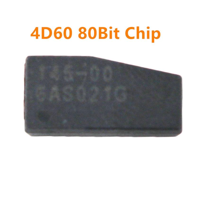 10pcs original ID4D60 (T16) Carbono Transponder (80bit) 4D60 chip de cerâmica