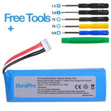 DuraPro 6200mAh Battery for JBL Charge 2 + /Charge 2 Plus /Charge 3 (2015 Version) Replacement speaker battery GSP1029102R