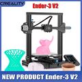 New Creality 3D Ender 3 V2 3D Printer DIY Kit 3D printer Silent Mainboard New UI Display Screen upgrade Ender 3 pro impresora 3D