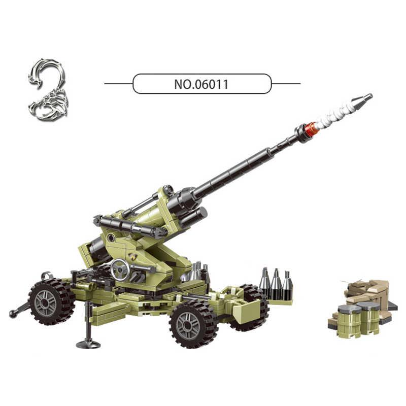 XingBao 06008-06015 série militaire guerre mondiale 2 camion-citerne véhicules blindés ensembles blocs de construction briques MOC compatibles Legoings