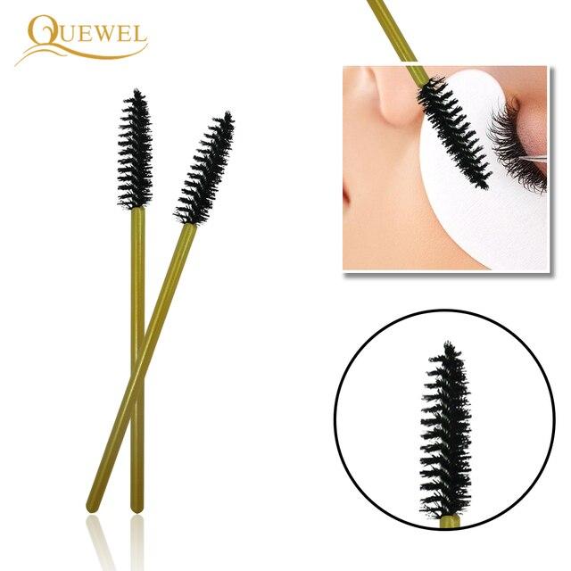 50 PCS Disposable Eyelash Brushes Mascara Wands Eye Lash Eyelashes Extension Eyebrow Applicator Cosmetic Makeup Brush Tool Kits 3