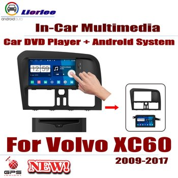 Auto DVD Player GPS Navigation For Volvo XC60 2009~2017 Car Android Multimedia System HD Screen Radio Stereo Head Unit