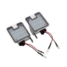 Car-Styling Two Sides Rear View Mirror LED Puddle Lights For Ford C-max Kuga Escape Mondeo Automobiles Turn Signal
