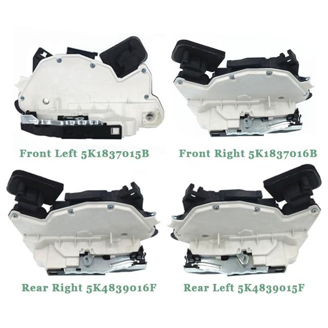 Locks Left Front For VW SEAT SKODA AUDI Amarok Cc Passat Scirocco 5N1837015A