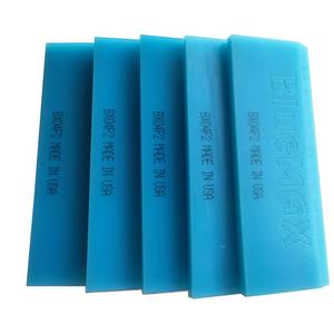 5 sztuk Bluemax ściągaczka 13*5cm gumowe skrobak Auto winylu Wrap folia zaciemniająca okna narzędzie okno do oczyszczania wody wycieraczki stylizacja samochodu narzędzia 5B02B