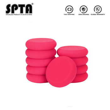 SPTA Car Buffing Sponge Polishing Pad Hand Tool Kit For Car Polisher Compound Car Paint Repair Care Headlight Polish Waxing Pad image