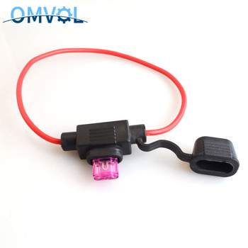 1Set car In-Line waterproof auto Fuse Holder with auto fuse image