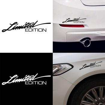 Limited Edition Letter Removable Car Auto Body Bumper Decal Stickers Decoration image