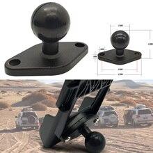 JINSERTA 1 אינץ (25mm) כדור מתאם w/יהלומי צלחת תואם עבור RAM Mounts עבור Garmin ZUMO צלחת לgopro מצלמה & טלפון
