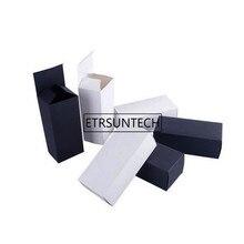 300pcs/lot 17cmx7.5cmx6cm Blank Black/White Packaging Paper Box Sunglasses