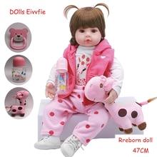 19 дюймов 48 см Реалистичная кукла реборн младенец новорожденный оптом игрушки для детей Рождественский подарок и подарок на день рождения куклы игрушки