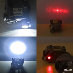 Image 2 - WADSN Airsoftพจนานุกรม 5 PEQ15 Red Dot IR Laser SightยุทธวิธีLA5C PEQ 15 อาวุธไฟฉาย 200 Lumenการล่าสัตว์armasสีขาวScout LIGHT