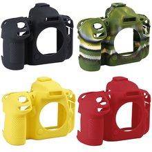 Camera case non-slip wear-resistant comfortable portable durable For Nikon D500 Silicone Case