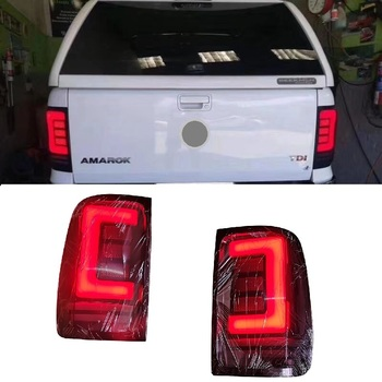 LED TAIL LIGHTS ASSEMBLY REAR LAMP LAMPS TURN SIGNAL BRAKE LIGHT FIT FOR  AMAROK V6 PICKUP TAIL LIGHT 2008-2020 CAR