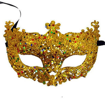 New Fashion Luxury Venetian Masquerade Mask Women Girls Sexy Fox Eye Mask For Fancy Dress Christmas Halloween Party 18
