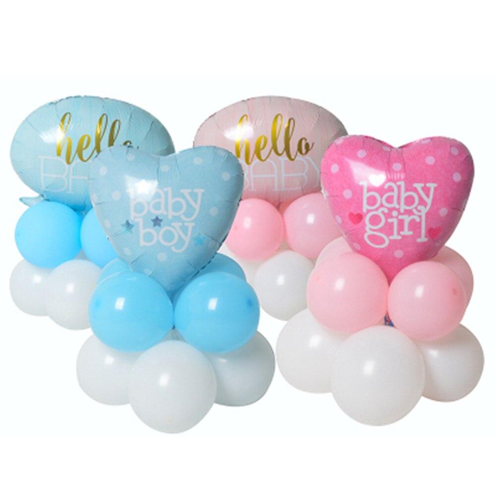 11 sztuk/partia anioł dziewczynek balon baby shower wózka dziecięcego folia ballon zabawki dla noworodka strona dekoracji balony powietrza