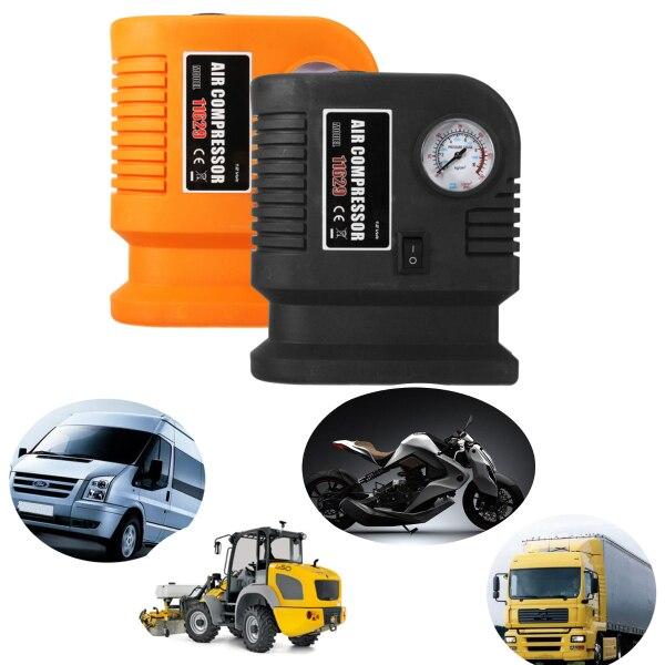 Audew Электрический 300PSI 12 В мини портативный воздушный компрессор насос Авто Автомобильный насос для шин для Авто/мотоцикла