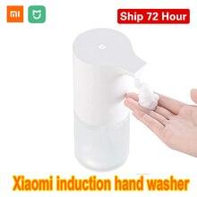 100% xiaomi mijia indução automática de espuma inteligente lavadora mão lavagem dispensador sabão automático sensor infravermelho para casa