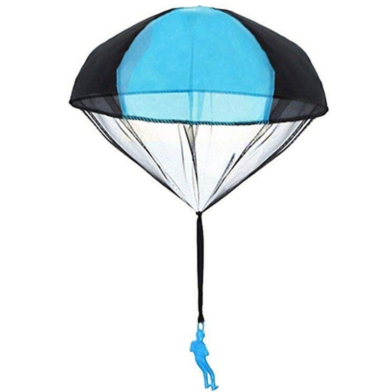 2019 Fashion Hand Throwing Colorful Parachute Toy Soldier Outdoor Sports Children Educational Toys
