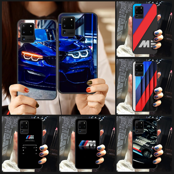 Germany M BMW Sports Car Phone Case Cover Hull For Samsung Galaxy S 6 7 8 9 10 e 20 edge uitra Note 8 9 10 plus black shell image