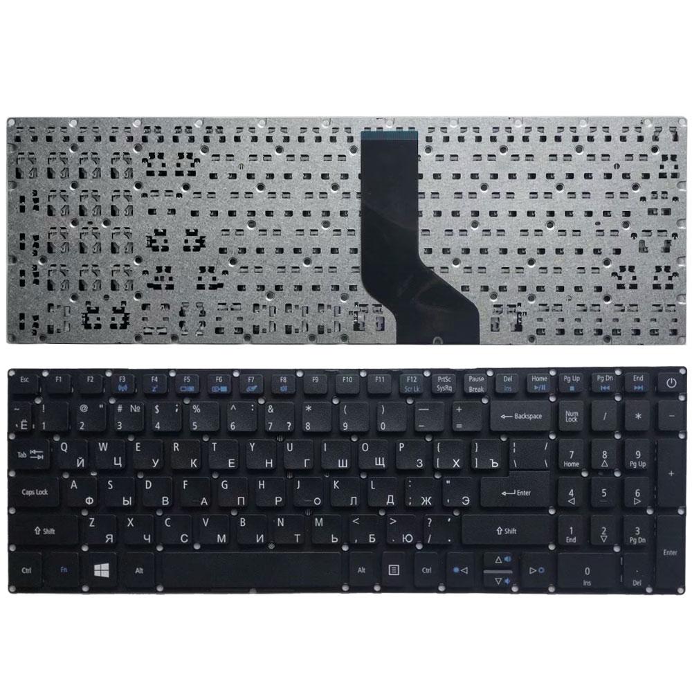 NEW RU Laotop Keyboard For ACER Aspire ES1-523 ES1-523G ES1-533 ES1-572 F5-521 Russian Keyboard Black