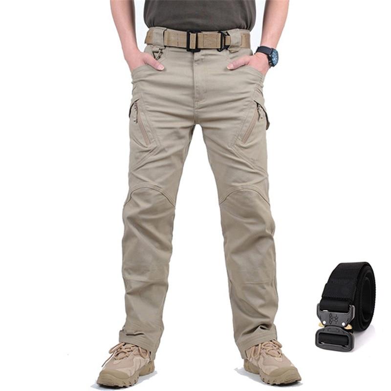 GEJIAN IX9 City Military Tactical Cargo Pants Men SWAT Combat Army Trousers Male Outdoor Waterproof Sweatpants Pantalones Hombre