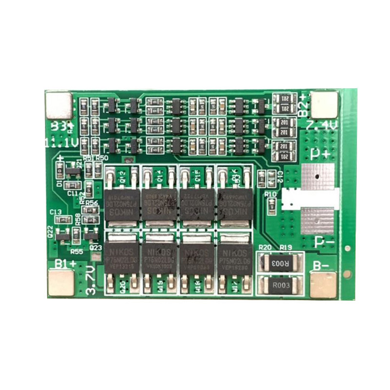 40A 3S 12.6V 18650 Lithium Battery Protection Board Start Drill Motor BMS Li-ion