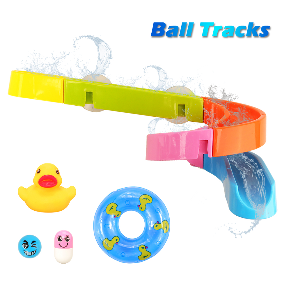 12 Pcs/set Water Toys Mini Soft Floating Rubber Duck Swimming Pool Floats Animal Toy Bathroom Slide Funny Gift For Baby Kids